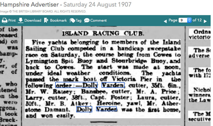 Some race history 6