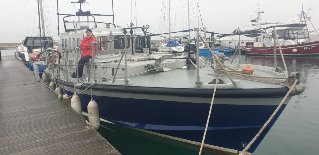 Sea Searcher arrives 1