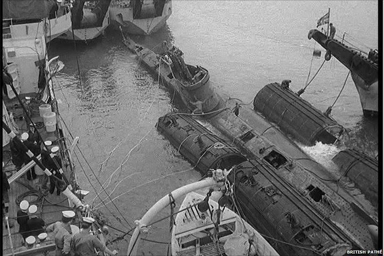 HMS SIDON 1
