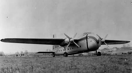Bristol freighter G-AIFF 2